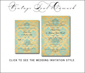 Royal Wedding Theme Invitations from MonogramGallery.ca