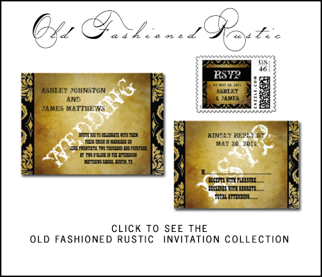 Rustic Wedding Invitations Collection from MonogramGallery.ca
