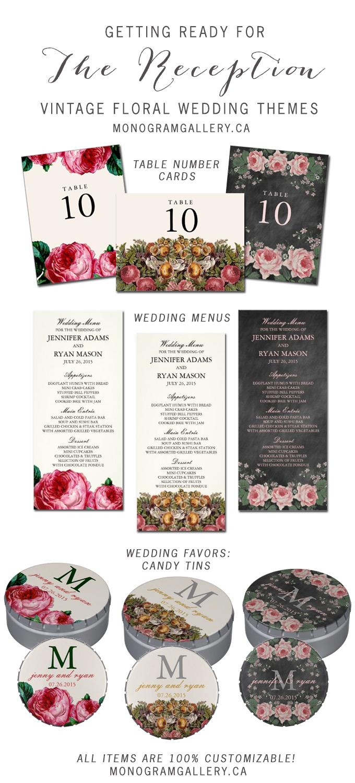 Vintage Floral Reception
